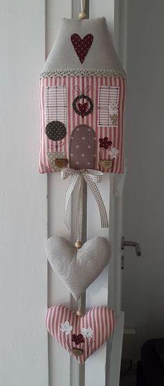 Домики из ткани, мягкие игрушки своими руками