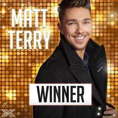 Your X Factor 2016 winner is Matt Terry! The X Factor, December 2016 Taio Cruz, Ingrid Michaelson, Cyndi Lauper, Jason Derulo, Meghan Trainor, Sam Smith, Flo Rida, Ellie Goulding, Aretha Franklin