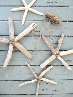 how to make driftwood starfish. EASY!