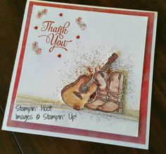 Country Livin' Boots by Stampin' Hoot! - Cards and Paper Crafts at Splitcoaststampers