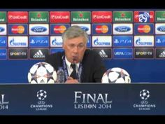 Youtube Real Madrid 4-1 Atlético Madrid: Ancelottis post-match press conference