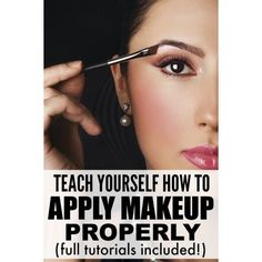 8 tutorials to teach you how to apply make-up like a pro ❤ liked on Polyvore featuring beauty products, makeup, eyebrow cosmetics, brow makeup, eye brow makeup and eyebrow makeup