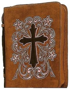 (MFW0651644) Western Leather Cowboy Bible Cover