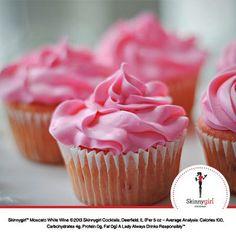 Strawberry Moscato Cupcakes