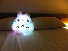Glow-in-the-dark Totoro pillow!