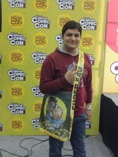 Varun Mehta at Comic Con
