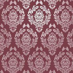 Réutilisables Wall pochoir Damas tricoter.  Disponible en 10 ou 14 Mil Mylar, sans frais supplémentaires.  SKU : S0009