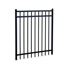 Steel Rail Fence Panel Kennel Plans Pinterest Rail