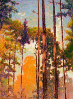 RICK STEVENS ART  Tall Pines II