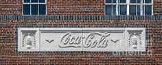 Coca Cola in Carved Stone