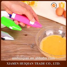 Kitchen tools electric colorful hand stainless steel egg beater