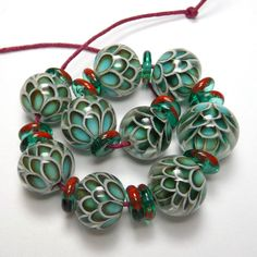 Girotondo Beads ° Watered ° SRA | eBay