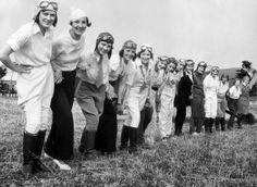 prima gara aeronautica femminile in America, 1929