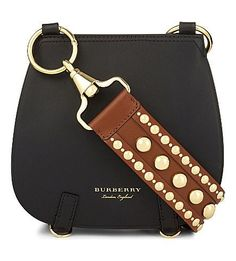 Nail heads/rivets on belt I have with dog leash closures on ends to make a strap to use on many of my purses