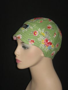 Cancer Hats for Hair Loss or Chemo Headcovers / Precious by hedart, $35.00
