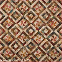 Laundry Basket Quilt of the Day - Triangle Swirl