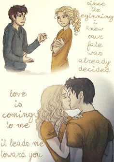 The then and now of Percabeth