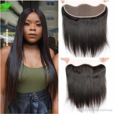 … Full Lace Frontal, Lace Closure, Brazilian Hair, Virgin Hair, Lace Wigs, Straight Hairstyles, Hair Styles, Fashion, Hair Plait Styles