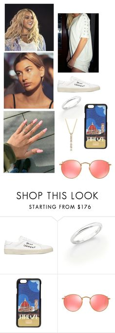 """""""Karma"""" by paukar ❤ liked on Polyvore featuring Yves Saint Laurent, Disney, De Beers, Dolce&Gabbana and Ray-Ban"""