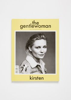 The magazine's 13th issue sees Kirsten Dunstin Gucciphotographed by Alasdair McLellan gracing the cover. - 313 pages- Spring-Summereditorials with photograph