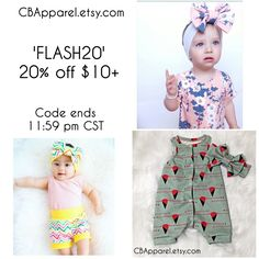 FLASHSALE all day today  go get your babe something pretty for 20% off!