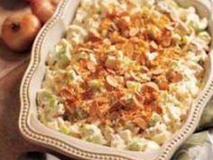 Chicken Almond Bake
