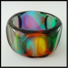 bangle #resin, #bangle, #jewellery