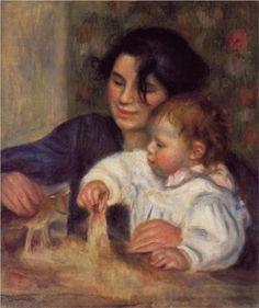 Renoir - Gabrielle and Jean, 1895.
