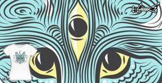 T-shirts - Design: I see You - by: Rainvelle