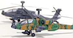 Papercraft AH-64D Apache Longbow (x 2) The AH-64 Apache is an attack helicopter at all times. The Hughes company (acquired by Boeing) had originally developed during the Cold War in order to stop the columns of tanks of the Warsaw Pact in case of conflict in Europe.