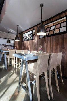 Stikwood Thin Kitchen Reclaimed Slats Sacramento Cafe Restaurants Ln Wood Siding