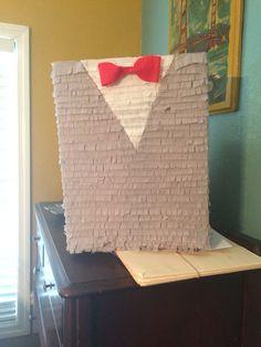 Pee Wee Herman piñata. Pee Wee Herman themed party.