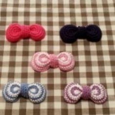 かぎ針編みで ☆ まるっこいリボンの作り方|編み物|編み物・手芸・ソーイング|アトリエ