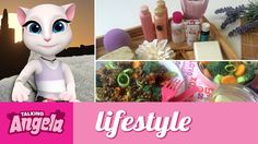 Talking Angela - My Evening Routine xo, Talking Angela  #TalkingAngela #LittleKitties #MyTalkingAngela