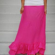 Maxi Skirt DIY {Skirts}