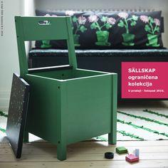 Namještaj iz SÄLLSKAP kolekcije manji je od onog koji ga je inspirirao, no funkcionira gdje god živiš i pruža ti istu veličanstvenu višefunkcionalnost. #IKEAograničenekolekcije www.IKEA.hr/SALLSKAP