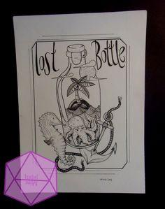 #lostbottle #illustration