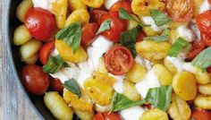Fried Gnocchi with Mozzarella and Cherry Tomatoes | The Splendid Table