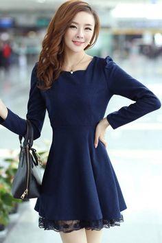 Essential A-line Dress OASAP.com