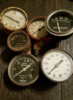 Ashton steam locomotive gauge off norfolk western railroad steam vintage pressure gauges lot of 6 foxboro steampunk decor fire extinguisher altavistaventures Gallery