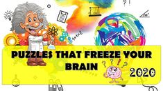 PUZZLES THAT FREEZE YOUR BRAIN || ROCK CLIMBERS || 2020 || BEST BRAIN EX... Freeze, Riddle Puzzles, Emoji Quiz, Funny Riddles, The Odd Ones Out, Brain Training Games, Puzzle Games, Best Brains, Right Brain