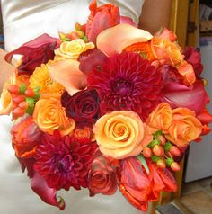 similar texture for bouquets in combination with the other bouquet photo and adding mini cymbidium orchids