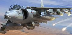 Don't forget: UK super maneuverable & STOVL fighter jet in action Military Jets, Military Aircraft, Air Fighter, Fighter Jets, Military Crafts, British Aerospace, Helicopter Plane, Airplane Art, Aviation Art