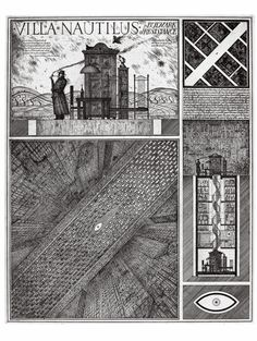 Restricted by the aesthetic limits on architecture in the Soviet Union, Alexander Brodsky and Ilya Utkin imagined the most fantastic cities and wondrous structures on paper.