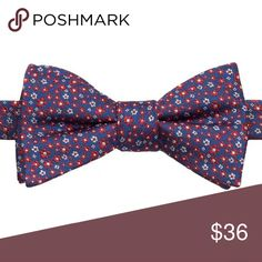 """Bow tie Product Details Distinguish yourself from the crowd with this men's Bow Tie Tuesday bow tie.  PRODUCT FEATURES 4.25"""" x 2.5"""" Pretied design Adjustable strap FABRIC & CARE Silk, polyester Accessories Ties"""