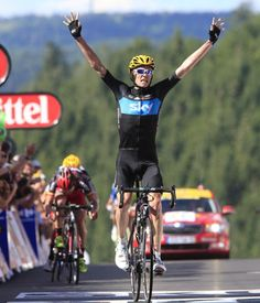 Chris Froome wins, Tour de France 2012, stage seven, 7 July 2012 By Graham Watson