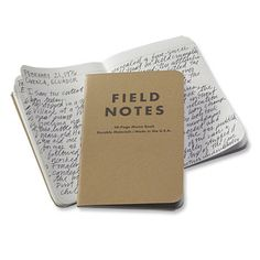 Small Travel Notebook / Field Notes