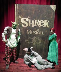 #Shrek the Musical from Columbus Children's Theatre