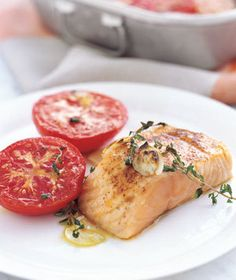 """Seasoned with paprika and garlic.   The recipe variations on """"the king of fish"""" are as inventive as they are numerous."""