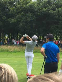 July 27, 2016: Niall at the NI Open Pro Am at Galgorm Castle in Northern Ireland